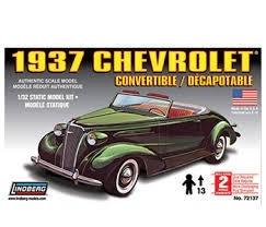 1937 Chevrolet Convertible, 1:32