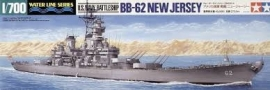 U.S. Navy Battleship BS BB-62 New Jersey, 1:700