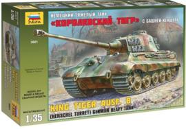 German Heavy Tank King Tiger Ausf B 1:35