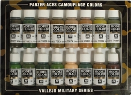Panzer Aces Camouflage Colours