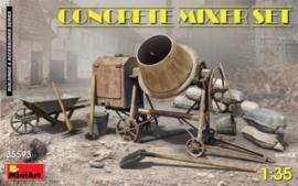 Concrete Mixer Set 1:35