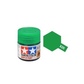 Clear Groen X25