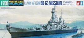 U.S. Navy Battleship BB-33 Missourri, 1:700