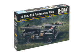 1/4 ton. 4x4 Ambulance Jeep
