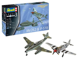 Me262 & P-51B