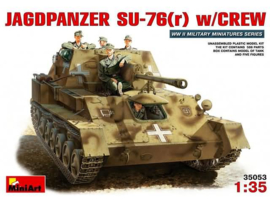 Jagdpanzer SU-76 w/crew