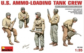 US Ammo loading tank crew