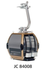 Omega IV Omloopcabine goud/zwart