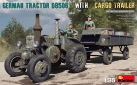 German Tractor D8506 w. Cargo Trailer