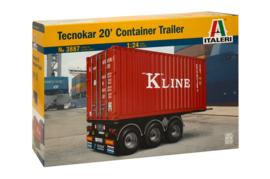 Tecnokar 20' Container Trailer