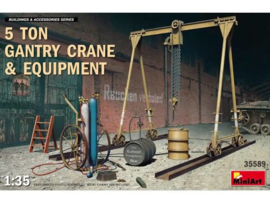 5 ton gantry crane & equipment