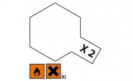 Wit glanzend X2