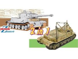 Panzerkampfwagen VI(P)/ Bergepanzer Tiger (P)