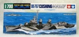 U.S. Navy Destroyer DD-797 Cushing, 1:700