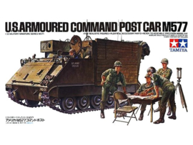 U.S. Armoured Command Postcar M577