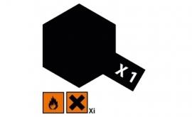 Zwart glanzend X1
