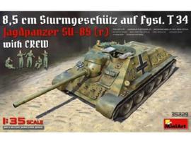 Jagdpanzer Su-85 w/crew