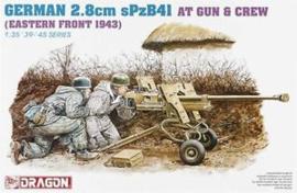 German 2.8cm sPzB41 Gun & Crew