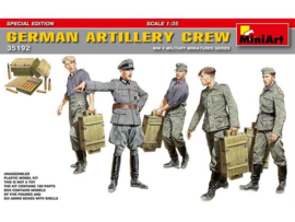 German Artillery crew special edition