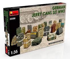 German jerry cans set WW2