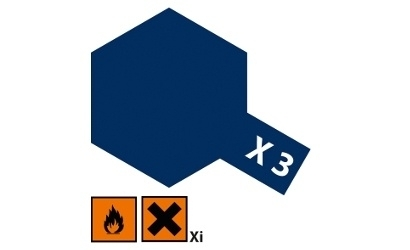 Koningsblauw glanzend X3