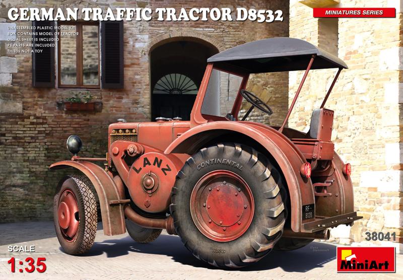 German Traffic Tractor D8531