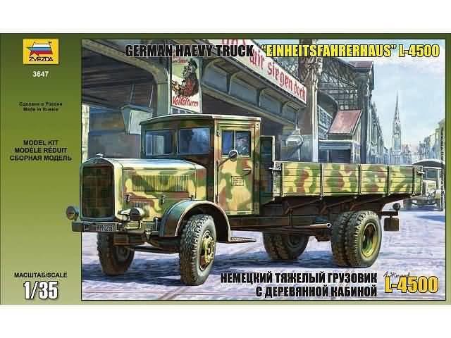 """German Heavy Truck """"Einheitsfahrehaus"""" 1:35"""
