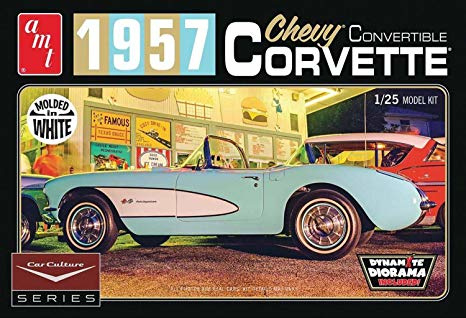 Chevy Convertible Corvette 1957