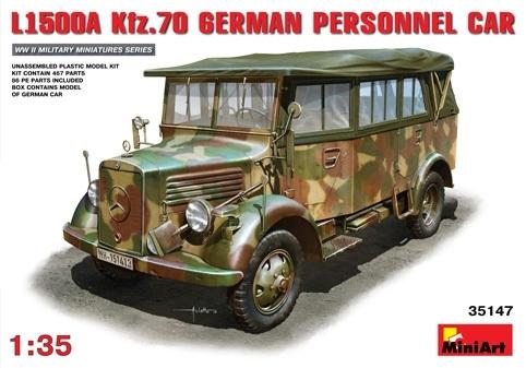 L1500A Kfz.70 personenvervoer