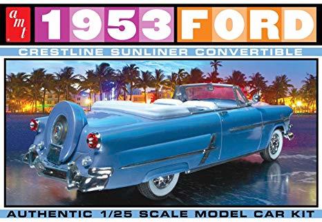 1953 Ford Crestline Sunliner Convertible
