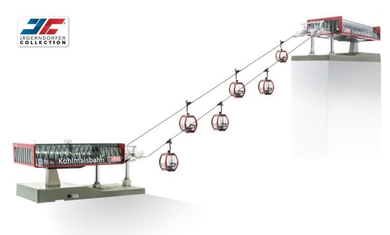 Kabelbaan D-Line Kohlmaisbahn 1:87 H0