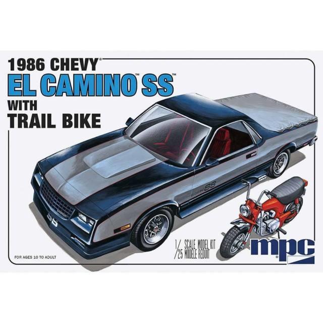 1986 Chevy El Camino SS met motor