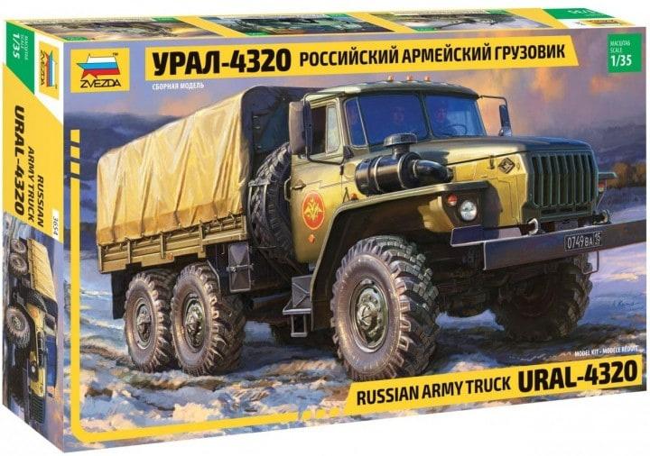 Ural - 4320 Army Truck 1:35