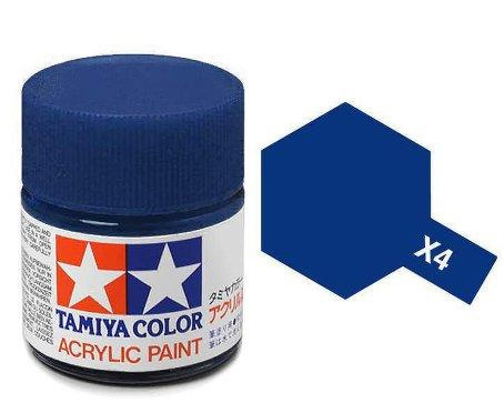 Blauw X4