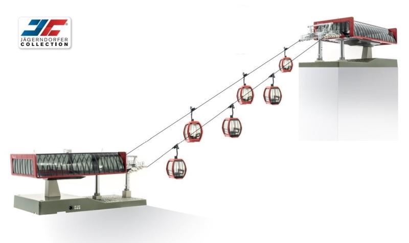 Kabelbaan D-Line Rood/Zwart 1:87 H0