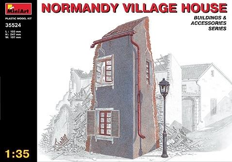 Dorps woning Normandië