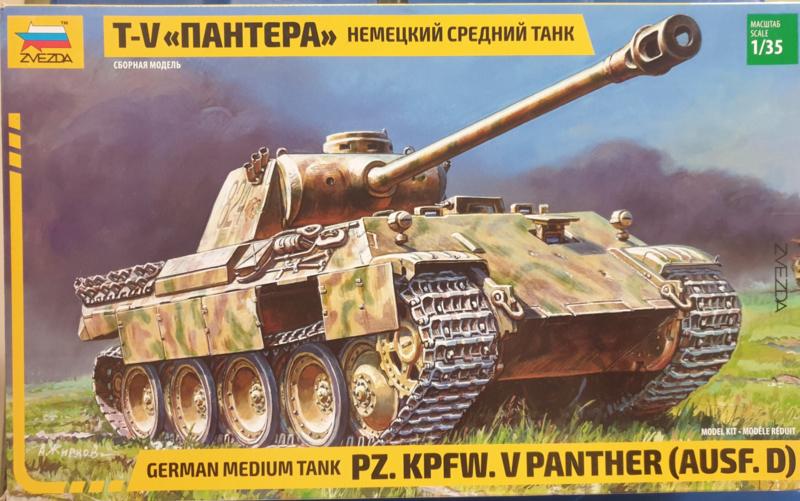 German Medium Tank Pz.Kpfw.V Panther 1:35