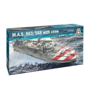 M.A.S. 563/568 w. crew