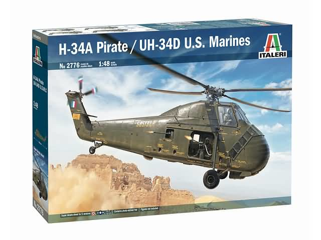 H-34A Pirate/UH-34D U.S. Marines