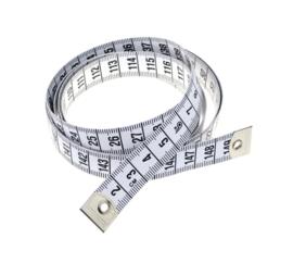 Centimeter wit fiber 150cm
