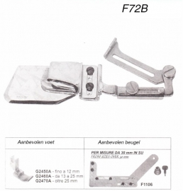 Zoomvouwer F72B