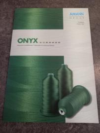 Kleurkaart Onyx