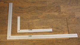Tekenhaak 30x15 cm