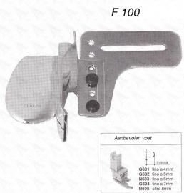 Biezenvouwer F100 (10 mm)