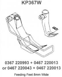 Standaard voetenset KP367W (Immi)