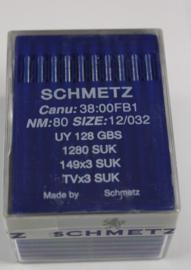 (100 stuks) Schmetz naald UY-128-GBS