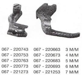 Koord,paspelvoet (set) 3M/M (Immi)