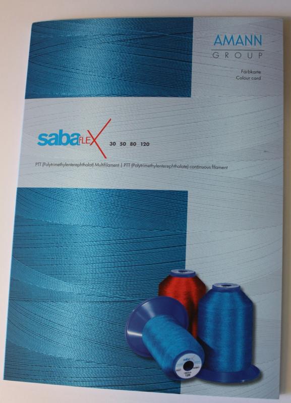 Sabaflex Kleurkaart (Garen 30 t/m 120)