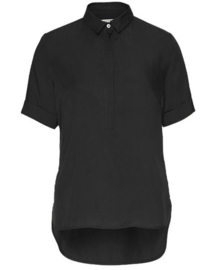 Wunderwerk || Shirt blouse tencel: black