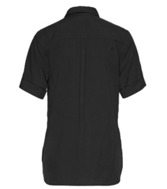 Wunderwerk || shirt blouse tencel: black